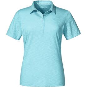 Schöffel Capri1 Polo Shirt Damen angel blue